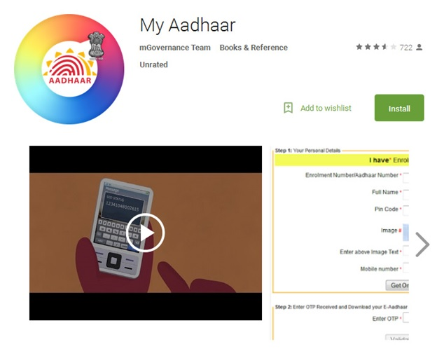 How to Download e-Aadhaar Card Online at
