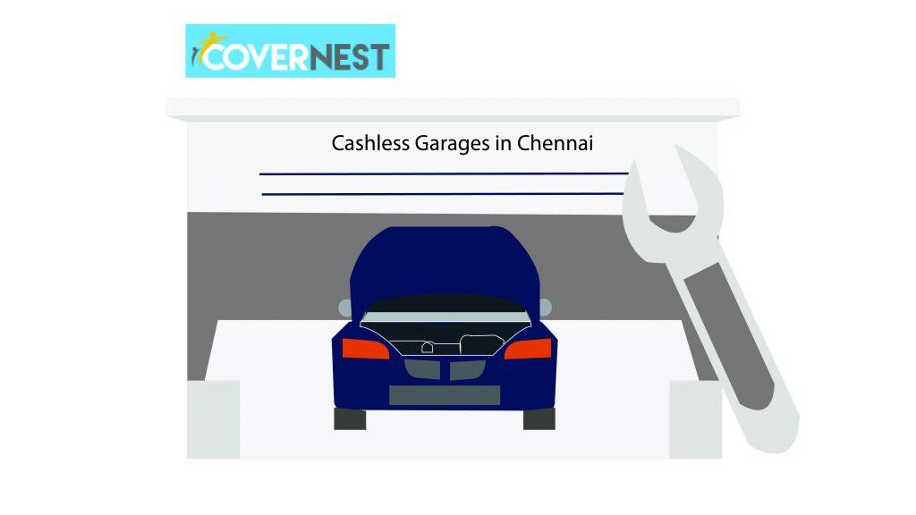 cashless garages in chennai