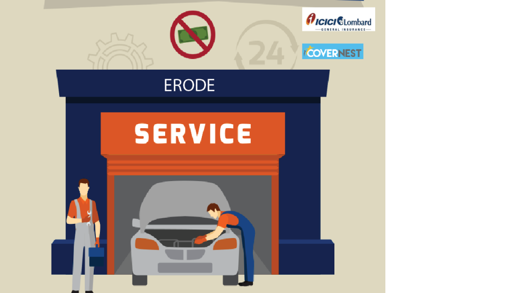 cashless garages in erode
