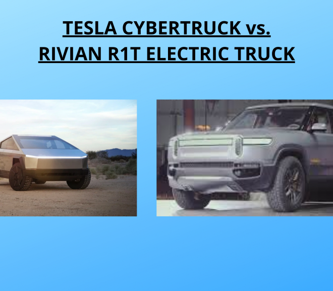 Tesla Cybertruck VS Rivian R1T Electric Truck