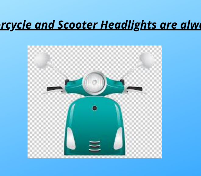 Why motorcycle and scooter headlights are always ON?