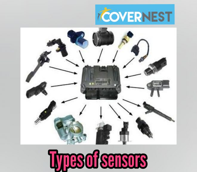 Types of sensors used in automobiles